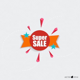 Super sale label design