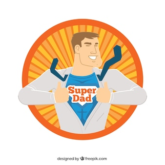 Superdad character