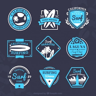 Surf badges collection