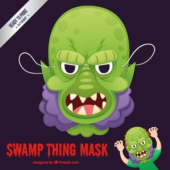 Swamp thing mask