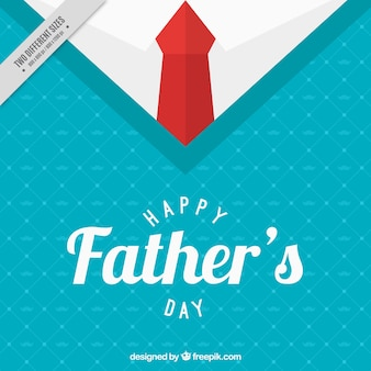 Sweater background with necktie for father's day
