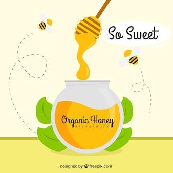Sweet honey, ready to eat