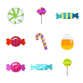 Sweets icons collection