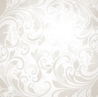 Swirly tile pattern art rococo