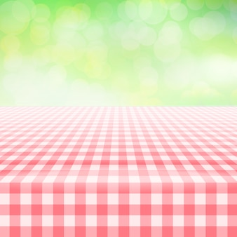 Tablecloth background design