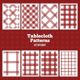 Tablecloth Vector Patterns