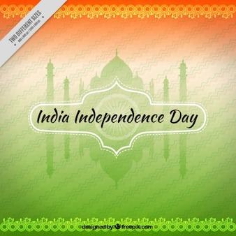 Taj mahalbackground of india independence day