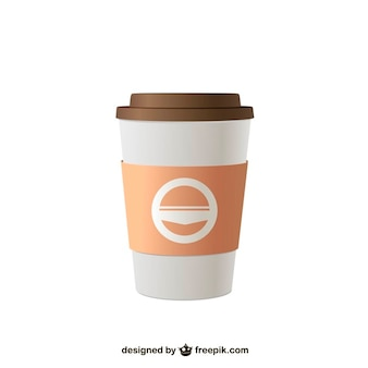 Takeaway coffee vector illustration