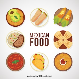 Tasty mexican food