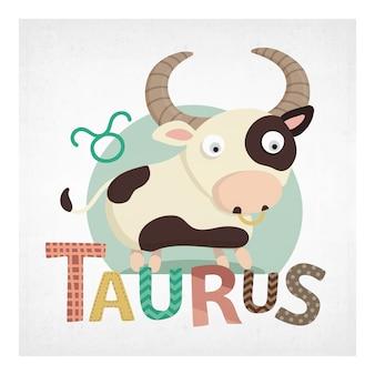 Taurus background design