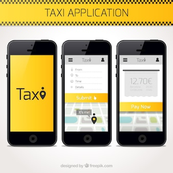 Taxi application template