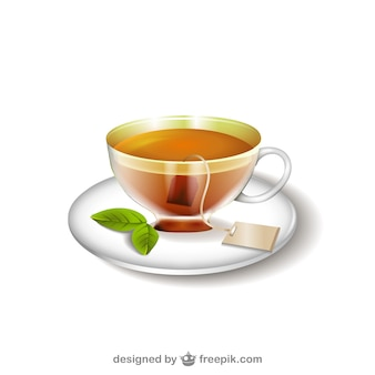 Tea cup illustration