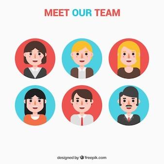 Team avatars