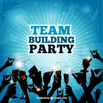 Team building party
