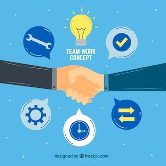 Teamwork, agreement