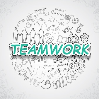 Teamwork elements collection