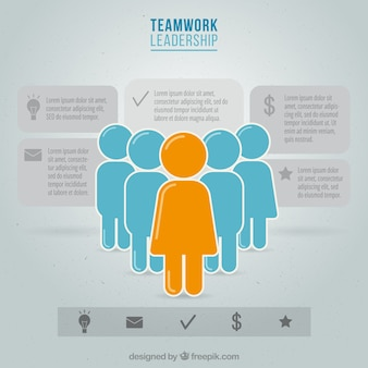 Teamwork infography