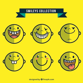 Teaser smiley collection