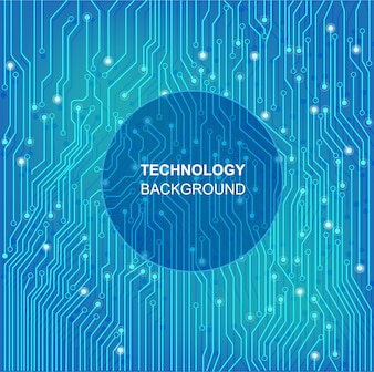 Technologic background design