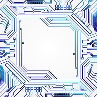 Technological frame background