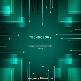 Technology background with absract style