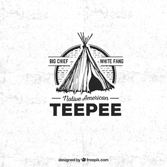 Teepee badge