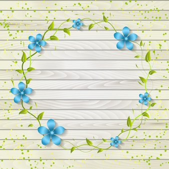 Template beautiful greeting celebration frame