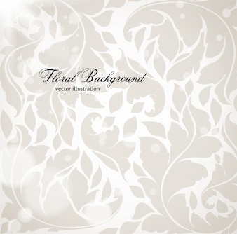 Template textured ornate wallpaper plants