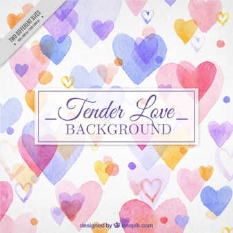 Tender love background