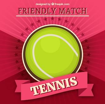 Tennis ball vector template