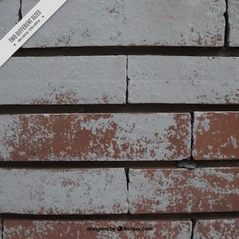 Texture of painted bricks
