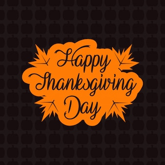 Thanksgiving day vintage background