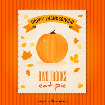 Thanksgiving Pumpkin Flyer
