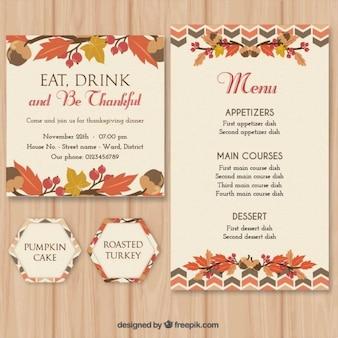 Thanksgiving stationery