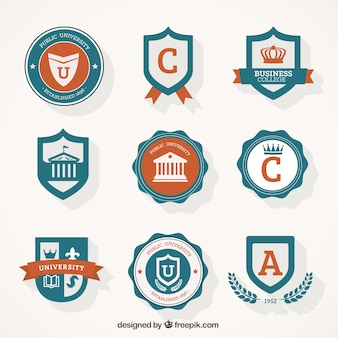 The classic label stickers    vector