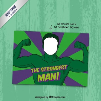 The strongest man card