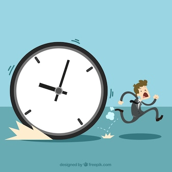 The time management concept