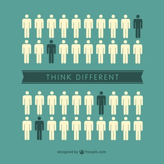Think different individuals