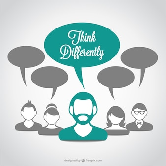 Think differently avatars