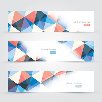 Three abstract background website copyscpace business backgrounds vector
