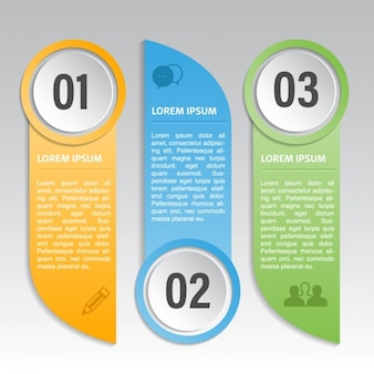 Three amazing options for an infographic