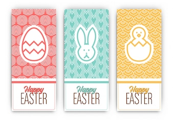 Three funny easter cards