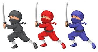 Three ninjas