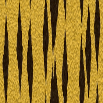 Tiger hair texture