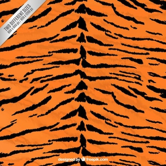 Tiger print background