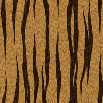 Tiger skin texture