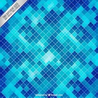 Tiled background in blue tones