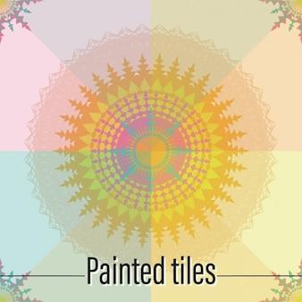 Tiles abstract design