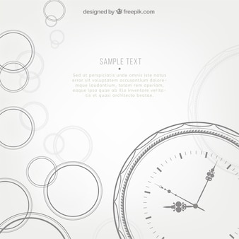 Time background template
