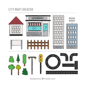 Tools to build a city map